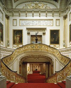 The Grand Staircase, photographer: Derry MooreThe Royal Collection © 2009 Her Majesty Queen Elizabeth II