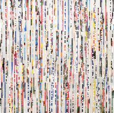 "Saatchi Art Artist Tehos Frederic CAMILLERI; Collage, ""Tehos - Straight Lines"" #art"