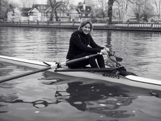 Katherine Grainger in a single scull