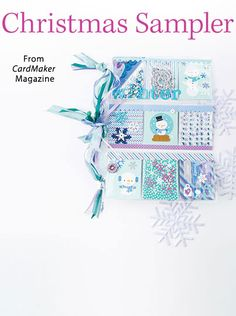 Christmas Sampler from the Winter 2016 issue of CardMaker Magazine. Order a digital copy here: https://www.anniescatalog.com/detail.html?prod_id=133852