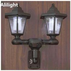 [ 18% OFF ] Vintage Led Solar Power Path Stair Outdoor Lighting Garden Fence Yard Fence Wall Porch Lights Retro Sconces Landscape Fixtures