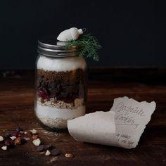Chocolate Cookie Krukke Sweets, Sugar, Cookies, Chocolate, Food, Christmas, Diy, Sweet Pastries, Yule