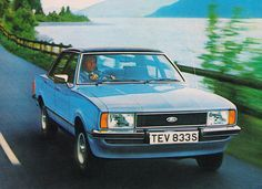 Ford Cortina Mk4 - it seemed so new at the time!