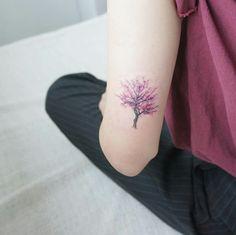 Cherry blossom - mini tattoo