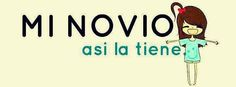 my boyfriend is. Huge :P Spanish Humor, Fb Covers, True Love, Funny, Laughter, Hello Kitty, Boyfriend, Family Guy, Lol