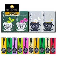 Clipper Tea package design by Big Fish of London