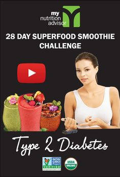 This is a 28 Day Superfood Smoothie Challenge was created for natural health with Type 2 Diabetes. Works with Vegan, Gluten-Free, Paleo, and Mediterranean diets. Be sure to discuss with your doctor and monitor blood sugar levels and adjust as needed. Diabetic Smoothies, Diabetic Recipes, Superfood Smoothies, Diabetic Desserts, Smoothie Challenge, Diabetic Living, Detox Your Body, Stop Eating, Dulce De Leche