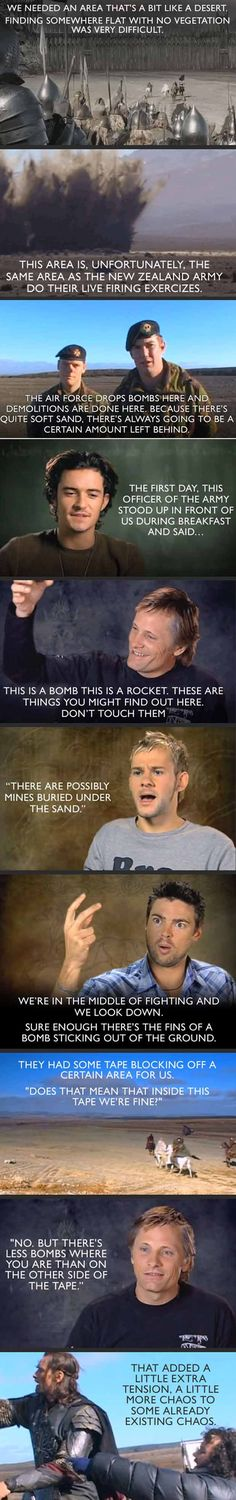 One Major Problem While Filming The Lord Of The Rings - 10 Pics