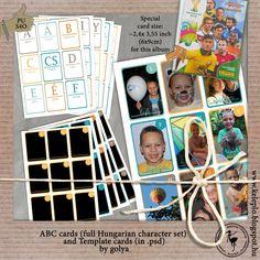 #ABC #card #freebie #hungarian_caracters #phototemplate