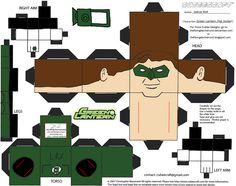GL 1: Hal Jordan Cubee by TheFlyingDachshund.deviantart.com on @deviantART