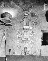 JOJO POST STAR GATES: Hopi Room - Desert View Watchtower Grand Canyon National Park. Thousands years ago the residents of the Earth left these messages here for us!! WHAT DO YOU SEE????
