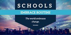 #Teachers can change but can #Schools? – EDUWELLS