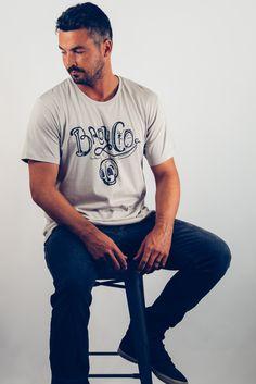 Men's Dia De BroyCo. Graphic T-Shirt In Silver