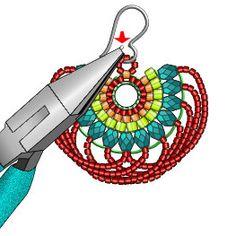Looplicity Brick Stitch Earring Instructions