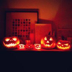 halloween citrouilles jack'o lantern pumpkin carving France lights