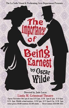 The Importance of Being Earnest, Oscar Wilde. [A play] Drama Theatre, Theater, Theatre Plays, Books To Buy, My Books, Books To Read Before You Die, Visual And Performing Arts, Chef D Oeuvre, Reading Challenge