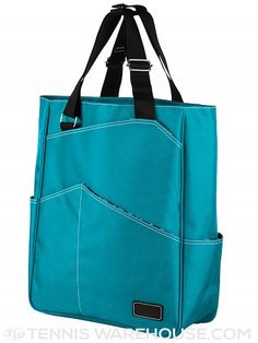 Maggie Mather Tennis Tote Bag Teal. Love this!