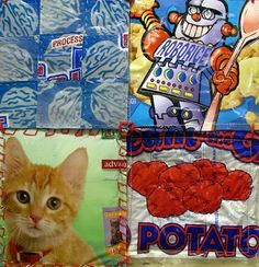 More Ways to Recycle Plastic: Make a Quilt Square Plastic Bag Crafts, Plastic Bags, Ways To Recycle, Reuse, Beach Blanket, Picnic Blanket, Fused Plastic, Weekend Crafts, Wax Paper