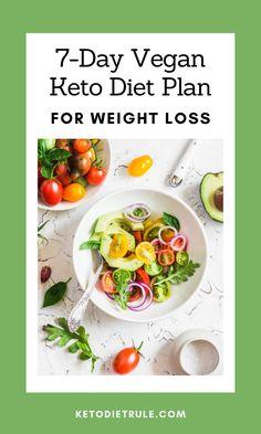 Vegan Keto Diet Plan, Vegan Meal Plans, Ketogenic Diet Meal Plan, Best Keto Diet, Ketogenic Diet For Beginners, Keto Meal Plan, Ketogenic Recipes, Diet Recipes, Healthy Recipes