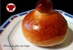 Brioche da gelato con il tuppoRicette – Cookkando In Cucina Facile Facile http://www.cookkando.it/ricetta/brioche-da-gelato/