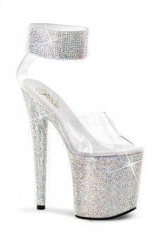 0f7c0eb6754b Sexy Rhinestone Shoes
