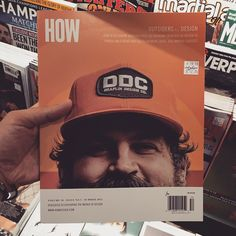 Why was this in the design section and not the nudie mags I have no idea. Huge ups to talented sasquatch @draplin for this. A nice surprise at my fave mag store. by adamrgarcia