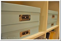 Organized STORAGE SOLUTIONS {A Thoughtful Place}