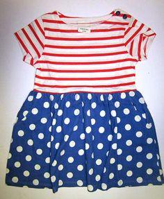 Mini Boden Retrokleid  VINTAG  Dots Kleid Sommerkleid Tunika   98 104