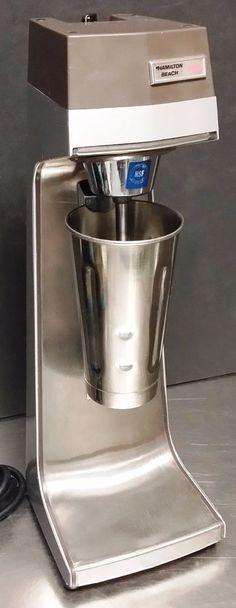 hamilton beach commercial malted milkshake machine scovill stainless - Milkshake Machine