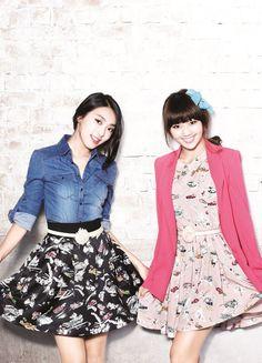 "SISTAR's Bora and Hyorin ""Fashionistas"""