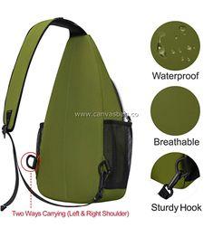 Hippie Shoulder Sling Bag (4) Shoulder Sling, Sling Backpack, Leather Bag, Backpacks, Canvas, Bags, Tela, Handbags, Backpack