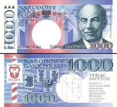 Poland 🇵🇱 1000 Zlotych polskich - non-released Bank Account Balance, Money Worksheets, My Money, Pictures, World Coins, Old Coins, Seals, Report Cards, Poland