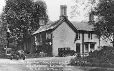 The Hare Arms near Downham Market, Norfolk: Where the Dalston County Secondary Grammar School for Girls, Hackney, London were evacuated in WW2.