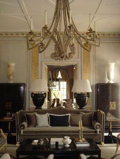Jean-Louis Deniot > Réalisations Architecture d'intérieur > New Delhi Beautiful Interior Design, Best Interior, Beautiful Interiors, Modern Interior Design, Interior And Exterior, Art Nouveau, Art Deco, Fresh Living Room, Living Room Decor