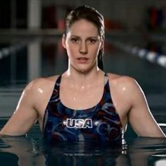 """Melissa """"Missy"""" Franklin----- is an American competition swimmer and four-time Olympic gold medalist. She currently holds the WORLD RECORD in the 200-meter backstroke and American records in both the 100-meter and 200-meter backstroke!!"""