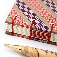 handmade washi tape journal by @Ruth Bleakley