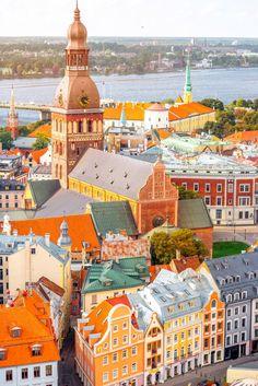 Dubrovnik, Utrecht, Frankfurt, Dublin, Prague, Cities, Riga Latvia, Travel Aesthetic, Travel Abroad