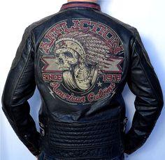 Affliction Black Premium Build for Speed Men's Leather Biker Jacket Black | eBay