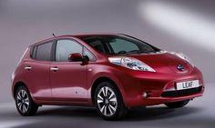 #Nissan #Leaf.  El coche  eléctrico lleno de tecnología punta.