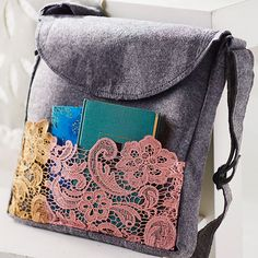 Lacey Pocket Tote
