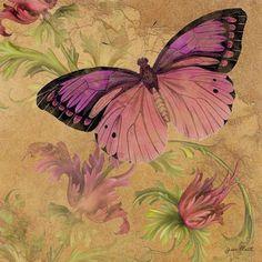 Butterfly Inspirations-d Digital Art  - Butterfly Inspirations-d Fine Art Print