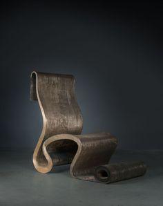 Lot : Ron ARAD (Né en 1951) - Fauteuil London Papardelle - 1992 - Bronze... | Dans la vente Ron Arad : Masterworks à Artcurial - Briest-Poulain-F.Tajan