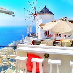 Oia, Santorini, Cyclades...   from @spacemantras14!