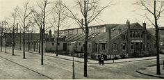 Jan De Wittstraat Drukkerij Thieme 1885-1995. Nu ligt op die plek het Thiemepark