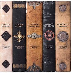 Asst. of 5 Game of Thrones Armor Book Set - Juniper Books