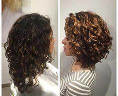 Resultado de imagen para curly bob haircut