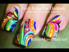 98 DIVA Glam Nail Art Tutorials - WHERE MY DIVAS AT!?!?!? :) Please find your favorite and repin! Im almost at 100 diva tutorials?!? can you believe it!