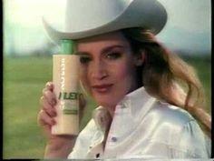 Revlon Flex Shampoo Jerry Hall 1984    For Toots! - I think I can smell it!