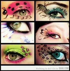 Maquillajes perfectos para estos carnavales