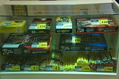 Selection boxes starting at just £4 Sparklers from 60p